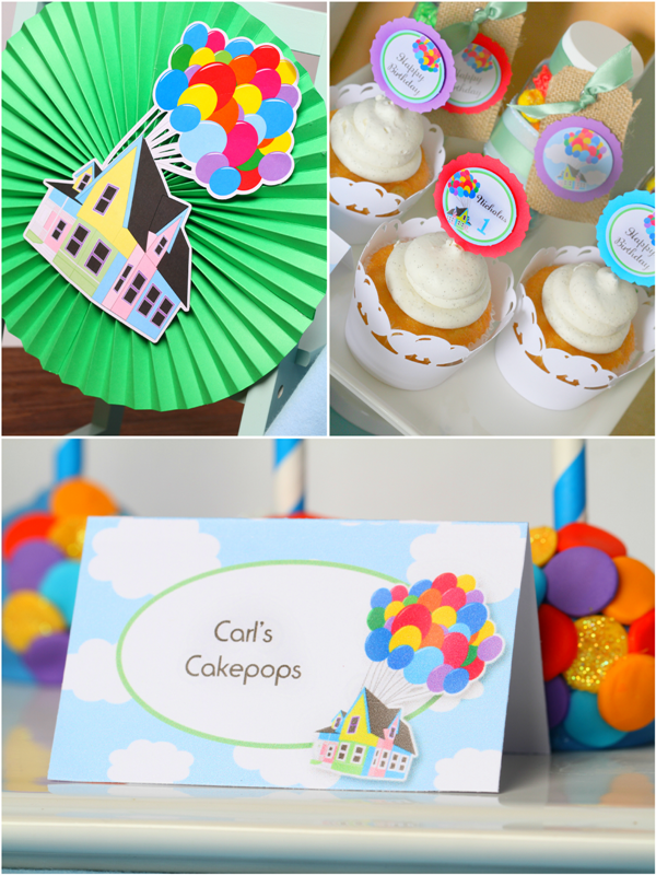 Up Movie Inspired Balloon Birthday Party Ideas - via BirdsParty.com