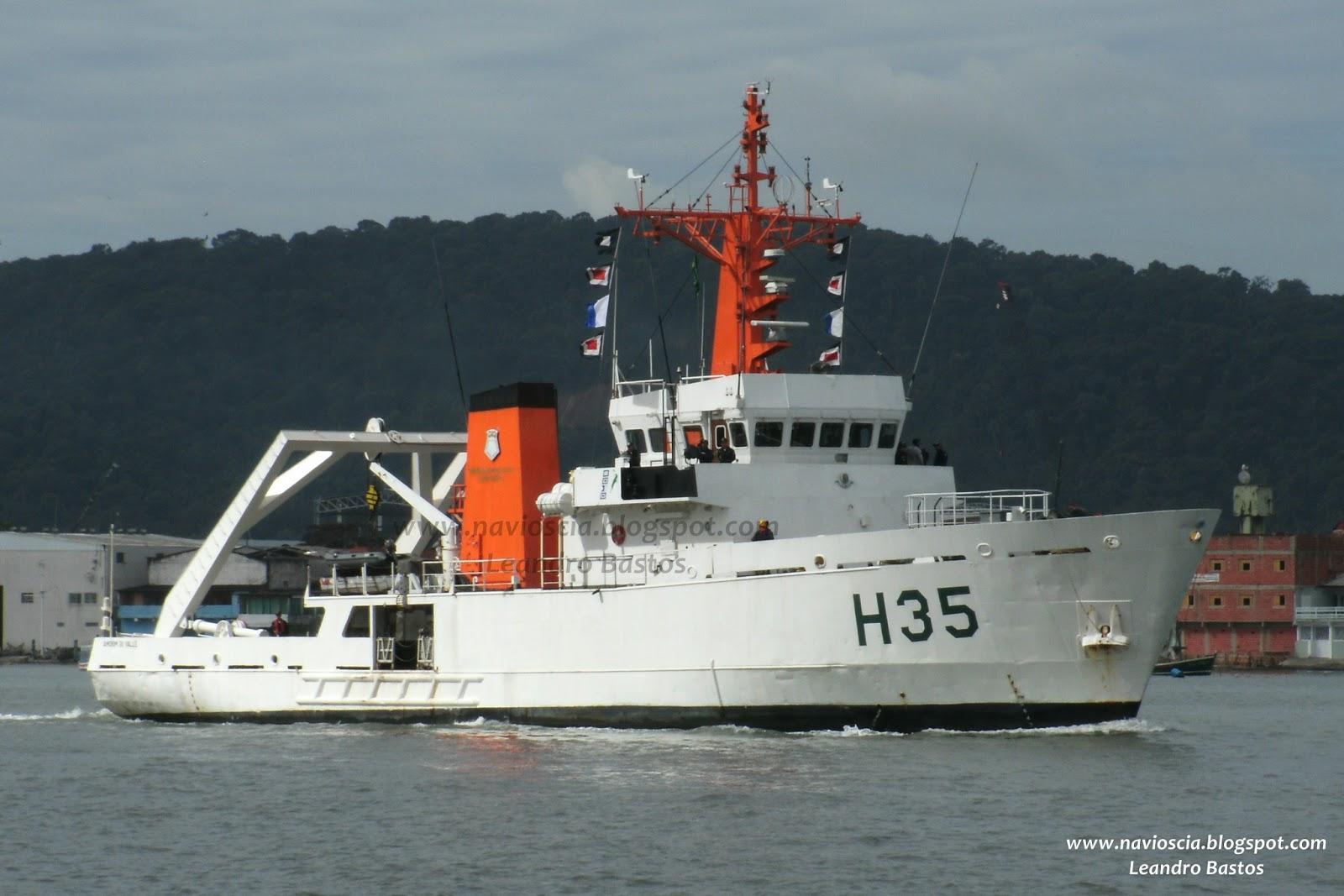 Navios de Santos & CIA: Navio AMORIM DO VALLE - H35