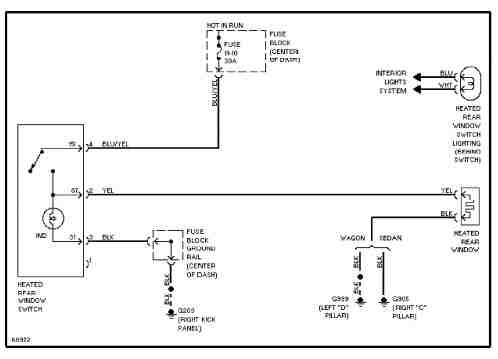 1991 Volvo 740 Wiring Diagrams  Wiring Diagram Service