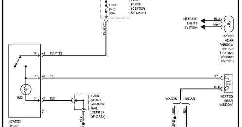 1991 Volvo 740 Wiring Diagrams  Wiring Diagram Service Manual PDF