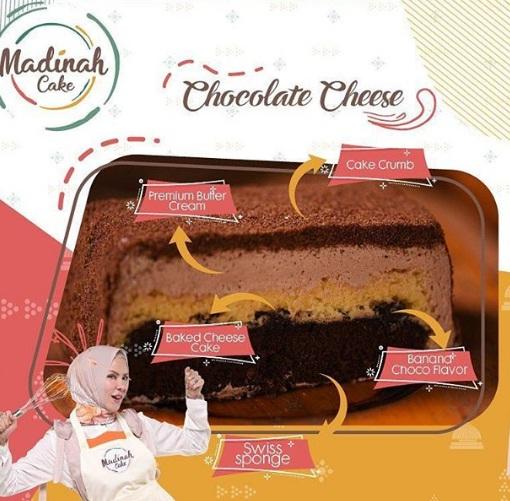 chocolate cheese madinah cake