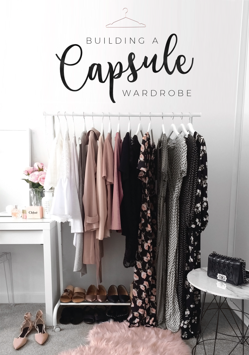 How to build a capsule wardrobe blog