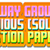 Railway Group D Exam: Previous (Solved) Question Papers