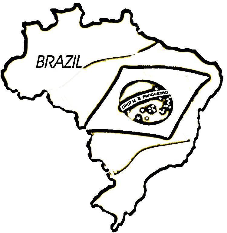 Mapas Do Brasil Para Colorir