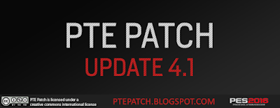 [PES16] PTE Patch Update 4.1 - RELEASED 13/02/2016