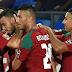 نتيجة مباراة المغرب وايران في مونديال روسيا 2018 مدافع المغرب يحرف هدف لإيران في مرمى فريقه بالخطأ