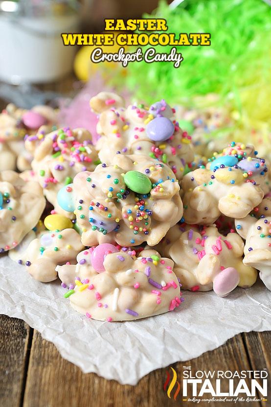 Easter Crockpot Candy