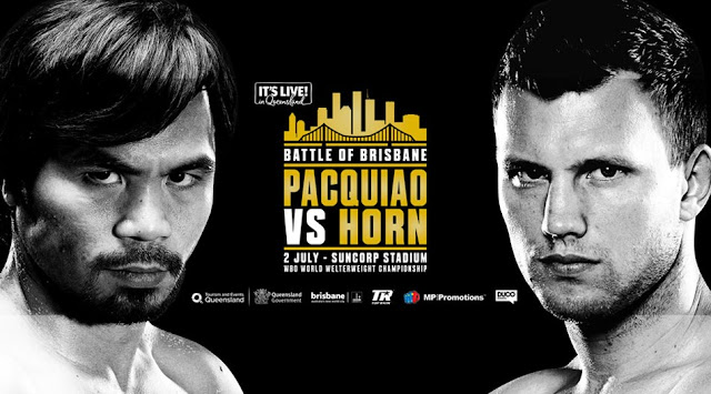Manny Pacquiao vs Jeff Horn watch livestream