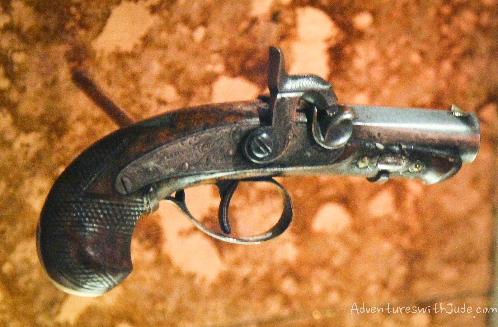 Pistol assassinated Abraham Lincoln