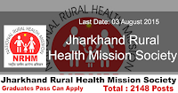 Jharkhand Rural Health Mission Society Recruitment 2015