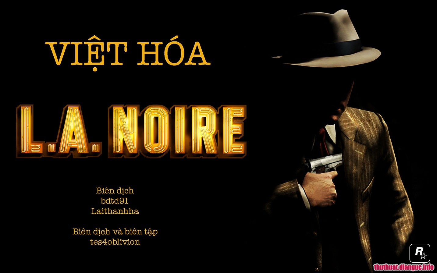 Download game L.A. Noire Complete Edition việt hóa Fshare