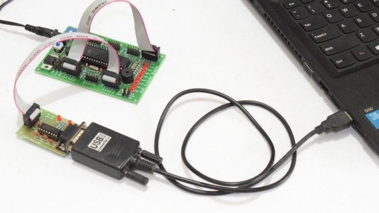 Microcontroller Interface with Computer via Serial Port