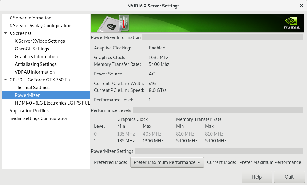 How to prevent screen tearing on Nvidia card with