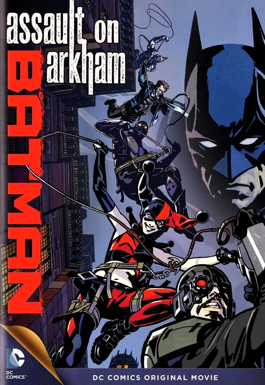 Batman: Assault on Arkham DVD Cover