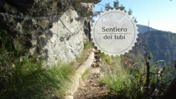 Sentiero dei tubi da Camogli a Portofino