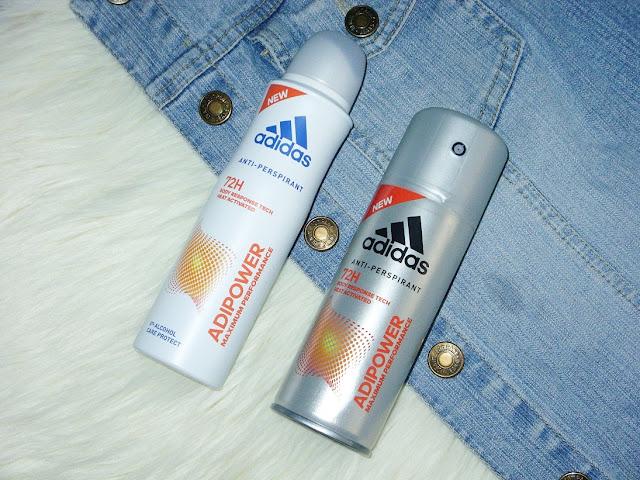 Nowe antyperspiranty Adidas AdiPower dla niej i dla niego