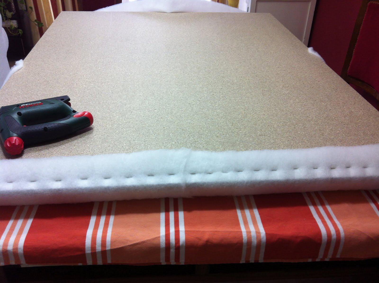 So glittering hacer un cabecero tapizado tutorial paso a for Tapis ado