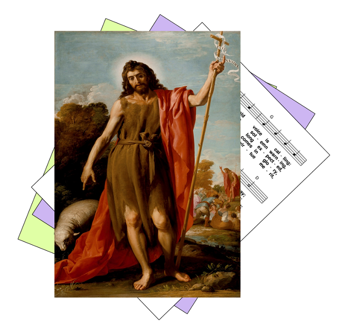 Hymns for the feast of John the Baptist