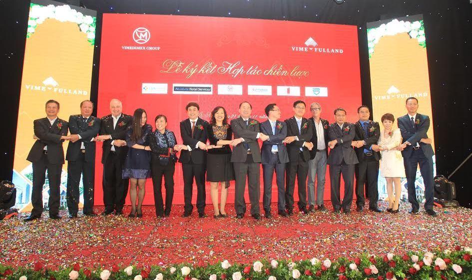 Lễ ký kết hợp tác hiến lược của chủ đầu tư VimeFulland