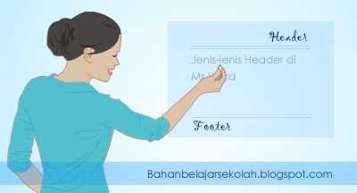 Header dan footer merupakan dua istilah yang sudah umum dalam penulisan suatu karya tulis  CARA MEMBUAT HEADER DAN FOOTER DI MS WORD