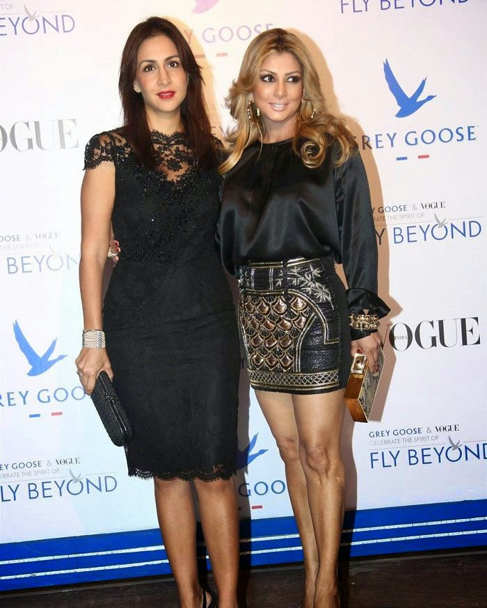 Ramona Narang Rodella, Pics from Red Carpet of Grey Goose & Vogue's Fly Beyond Awards 2014