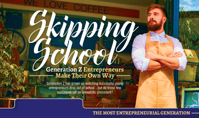 Skipping School: Gen Z Entrepreneurs Make Their Own Way