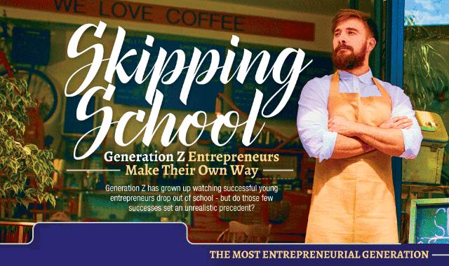 Skipping School: Gen Z Entrepreneurs Make Their Own Way