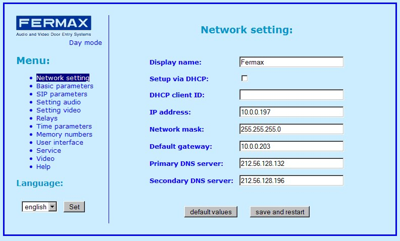 VOIP and SIP News: Link a Door Phone to 3CX Phone System