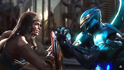 Wonder Woman e Blue Beetle per Injustice 2
