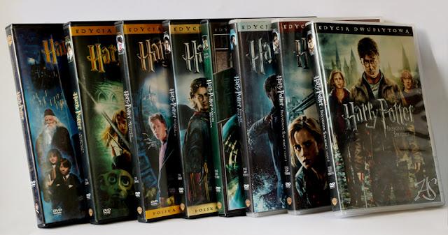 Harry Potter - Filmy DVD - Wady filmów, błędy, nieścisłości