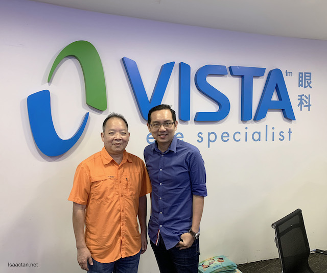 Thumbs up to VISTA Eye Specialist