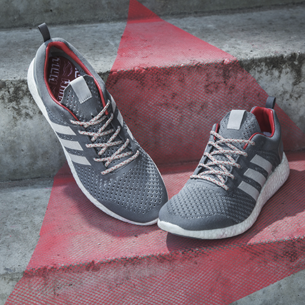 sale retailer 162b9 0b5cb A second colorway of grey, white and red is inspired by one of adidas  most  loved archive runners, the ZX 500.