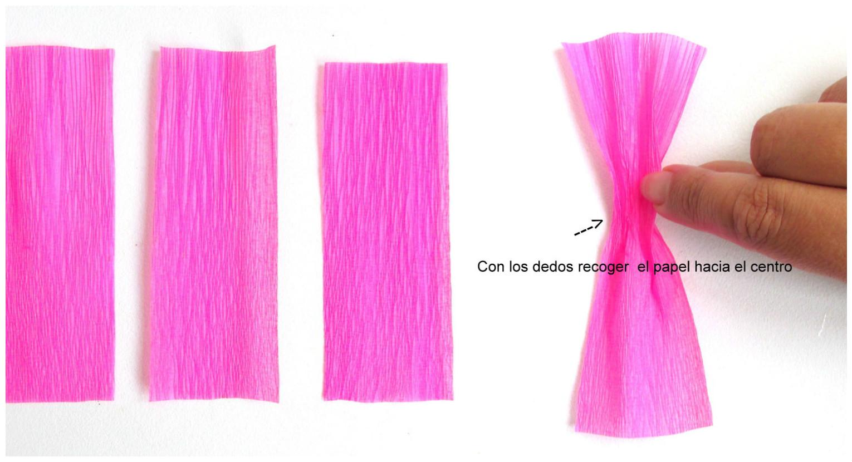 3 tutoriales para aprender c mo hacer flores con papel - Como se hacen flores de papel ...