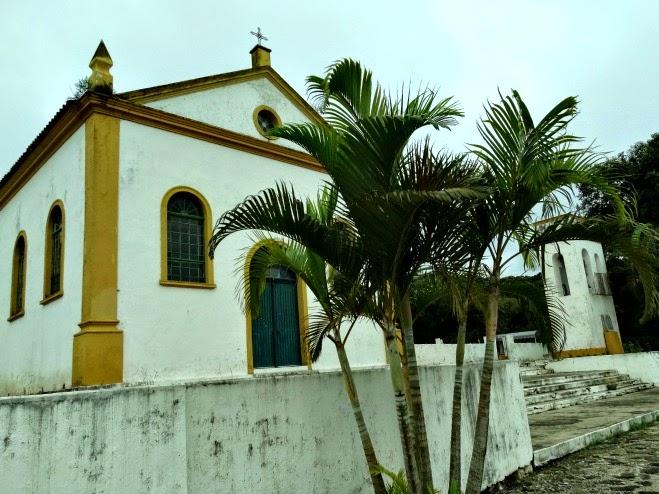 Igreja São Miguel Arcanjo, em Biguaçu