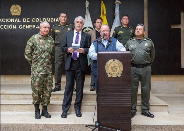 Colombia denuncia que el ELN planea sus atentados desde Venezuela