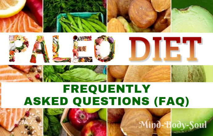 questions about the paleo diet