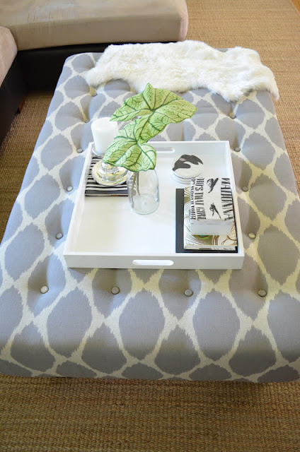 DIY Upholstered Ottoman Coffee TableDIY Show Off DIY Decorating