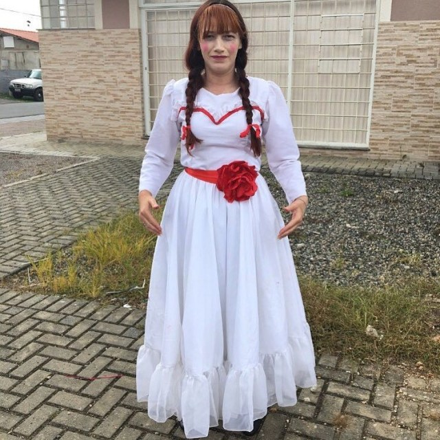 scary halloween costume idea 2018