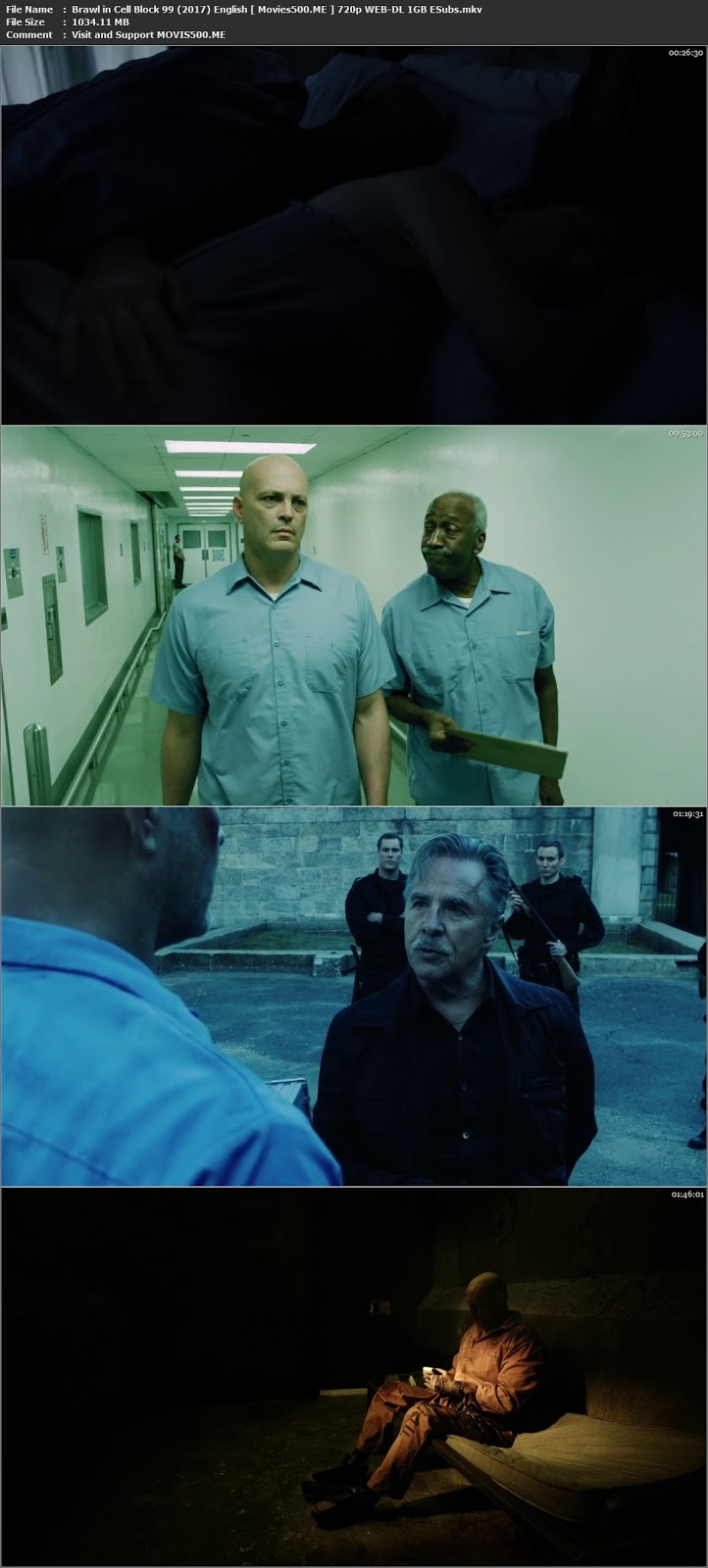 Brawl in Cell Block 99 2017 English WEB DL 720p ESubs 1GB at movies500.site