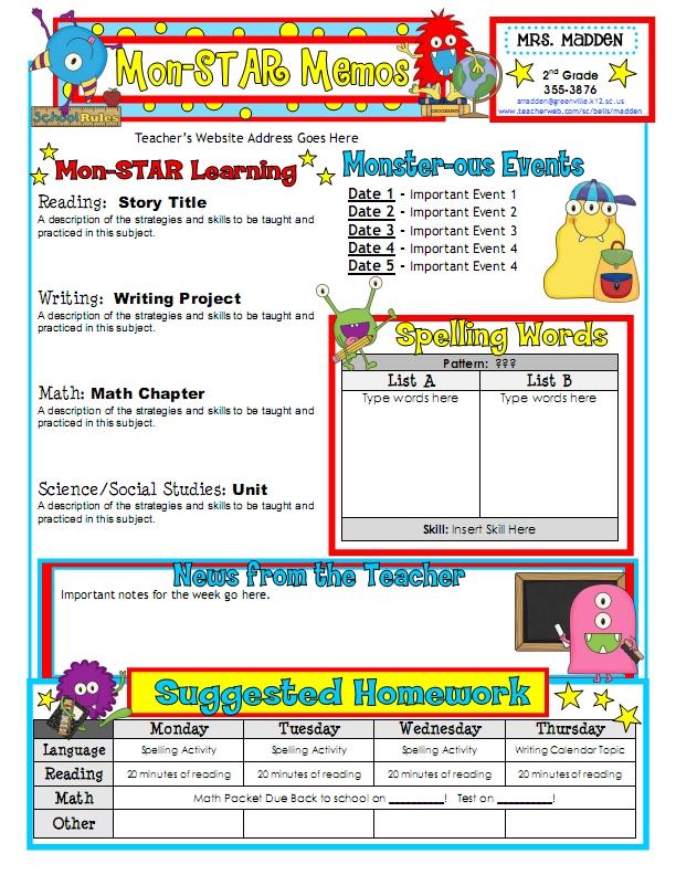 Work, Work, Work! - *Teaching Maddeness* - classroom list template