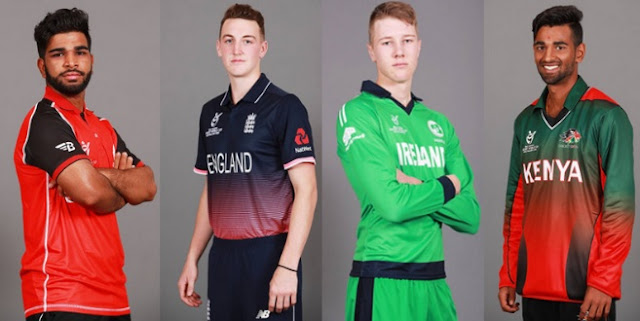 Under 19 World Cup 2018 Teams