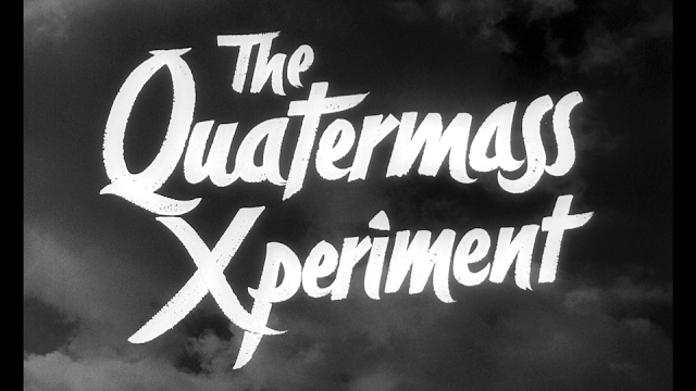 Original Quatermass Xperiment Title Card