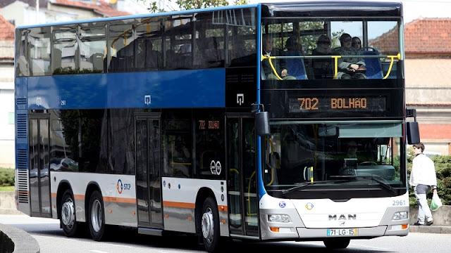 Ônibus no Porto