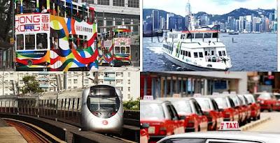 Transportasi Umum di Hongkong