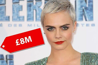 Cara Delevingne highest earning models