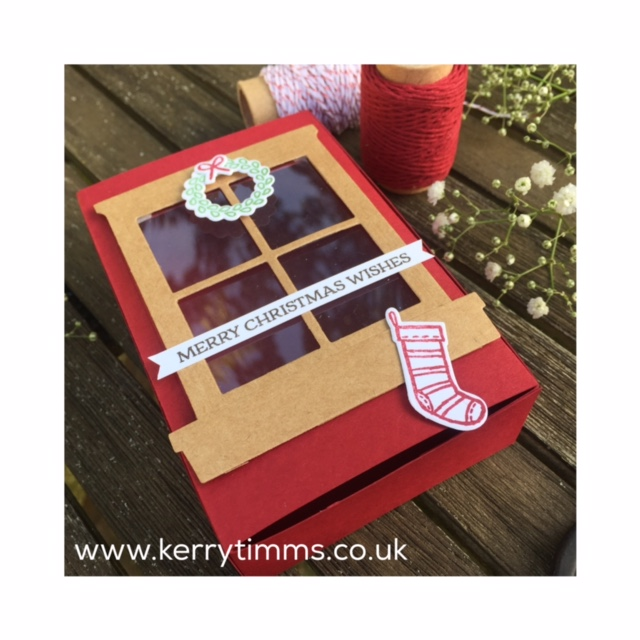 kerry timms stampin up handmade gift box stamping craft create creative papercraft class gloucester quedgeley christmas stamp paper scrapbooking hobby female