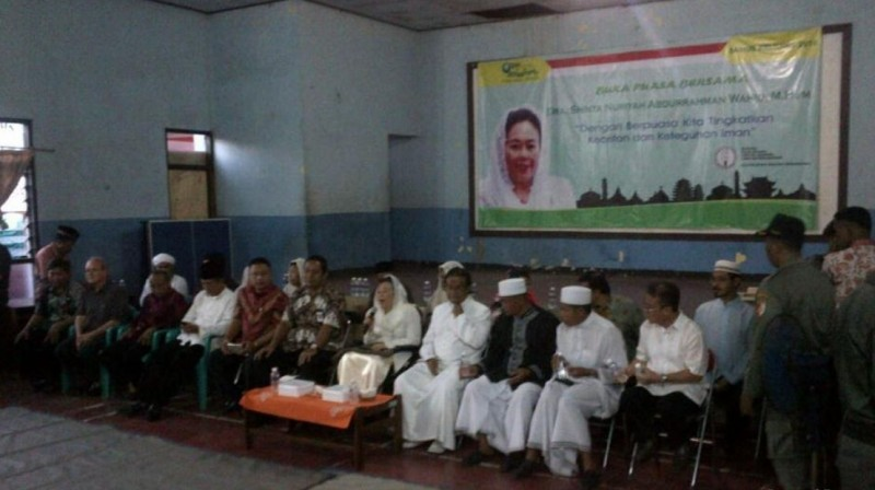 Acara buka bersama Sinta Nuriyah Abdurrahman Wahid