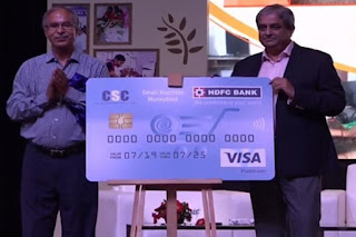 HDFC Bank, CSC Launches Credit Card for VLEs
