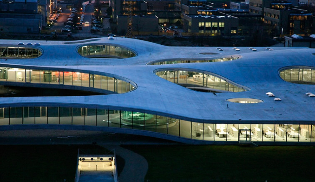 a1b127f1c70 ROLEX LEARNING CENTER AT EPFL BY SANAA