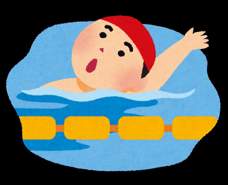 背泳ぎのイラスト 背泳ぎのイラスト | 無料イラスト かわいいフリー素材集 いらすとや